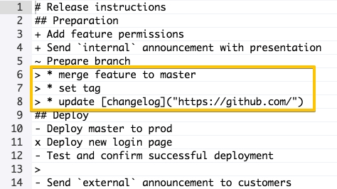 1-1-release-checklist-editor