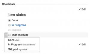 smart checklist-states