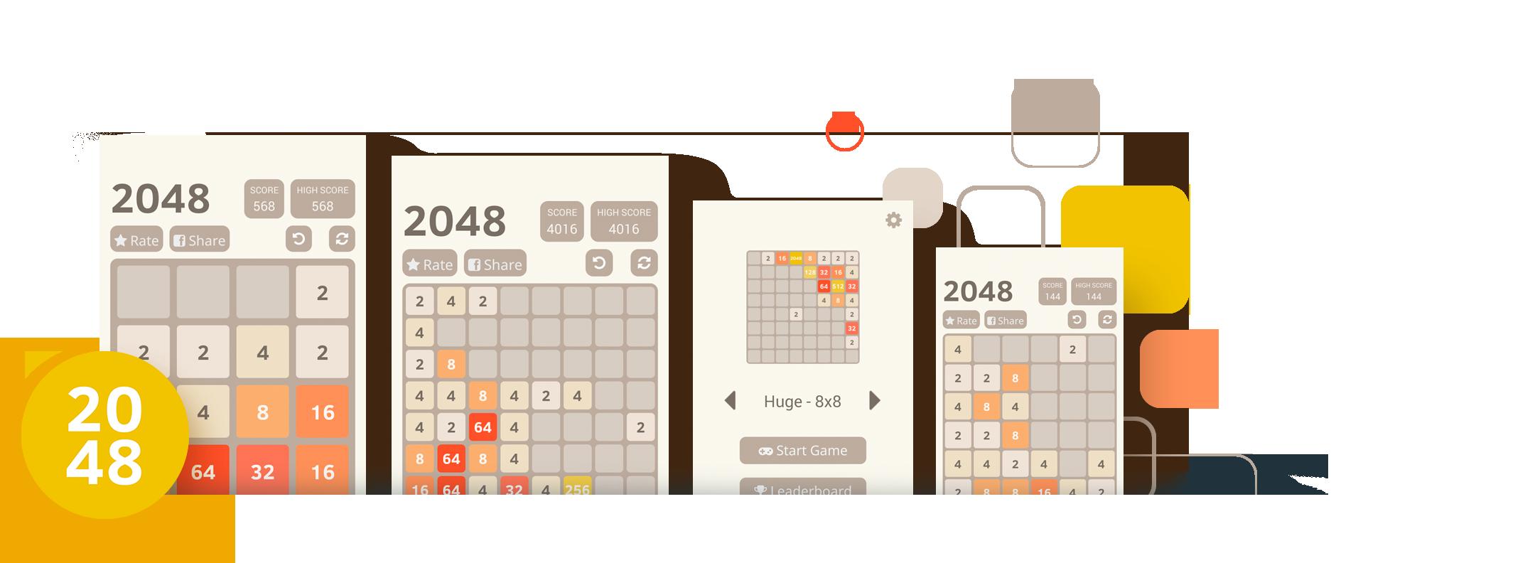 2048 React Native App