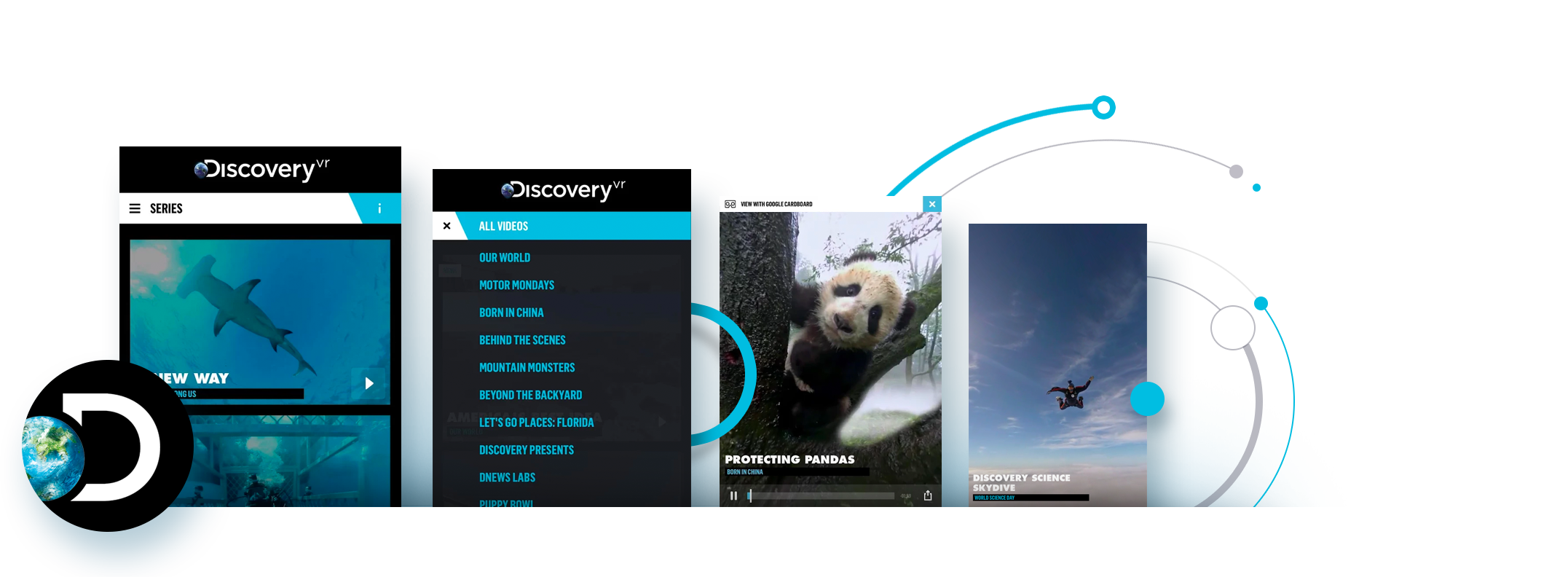 Discovery VR React Native App