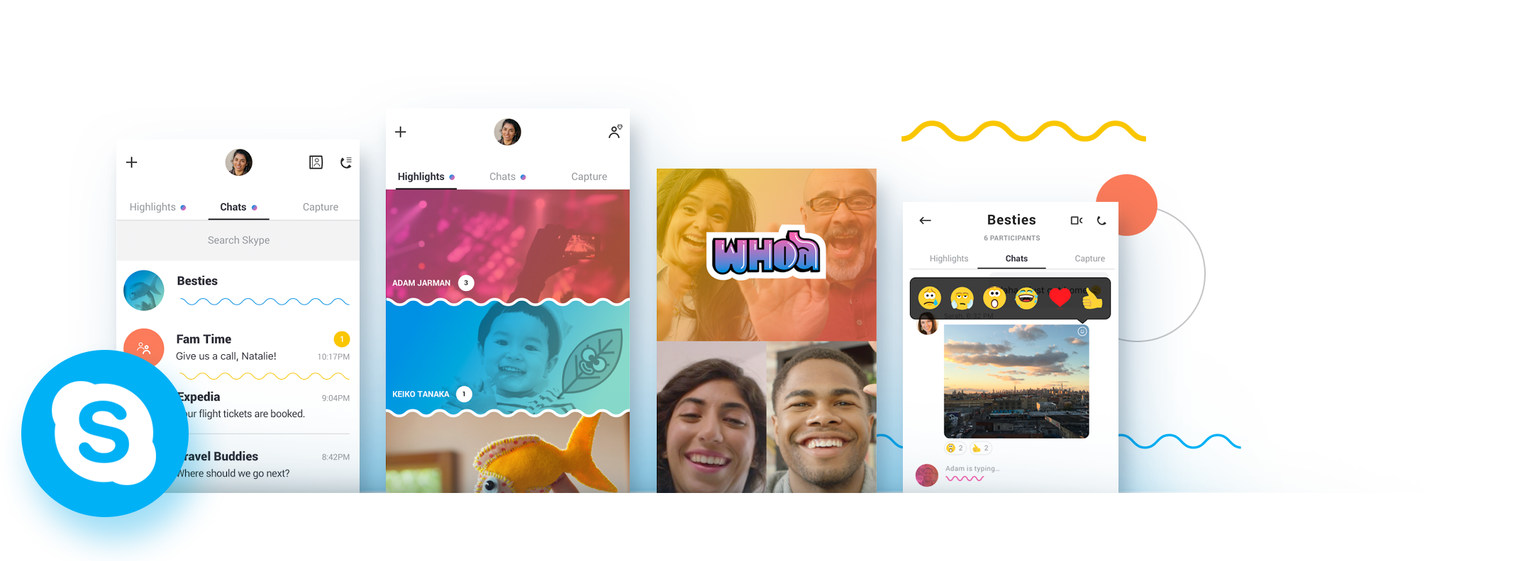 Skype React Native App