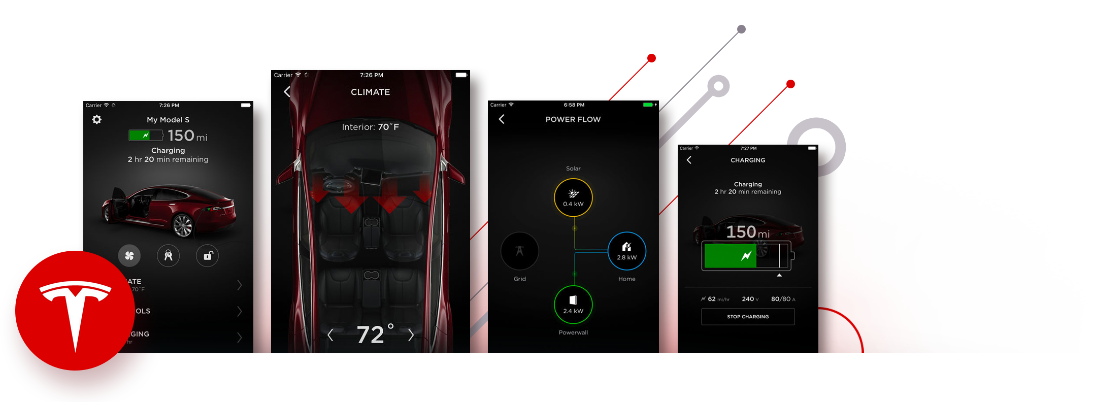 Tesla React Native App