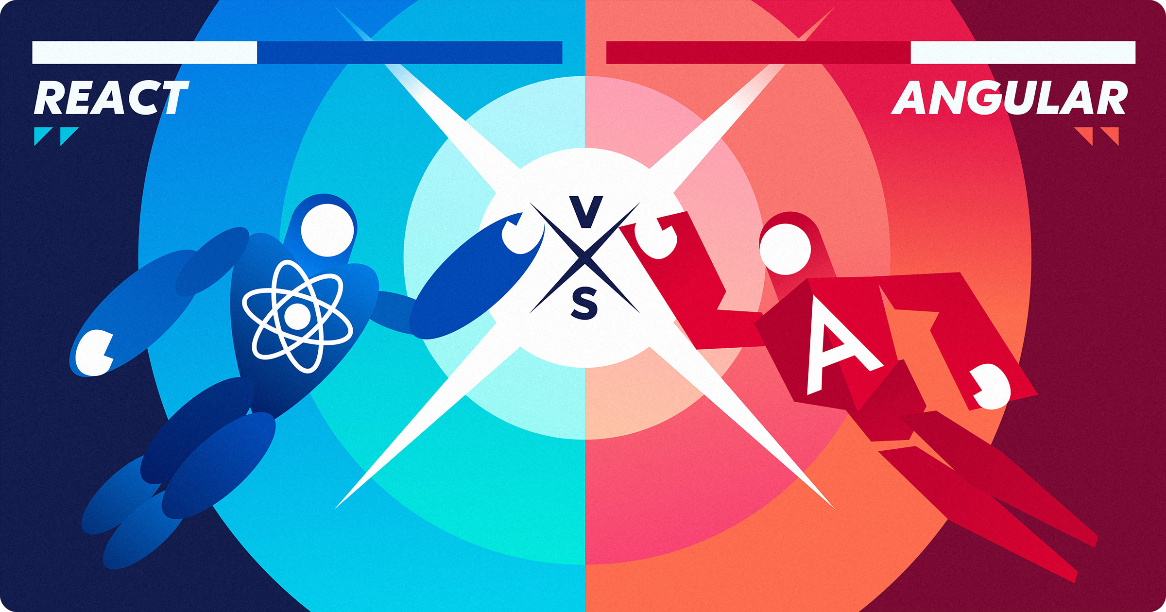 React vs Angular overview