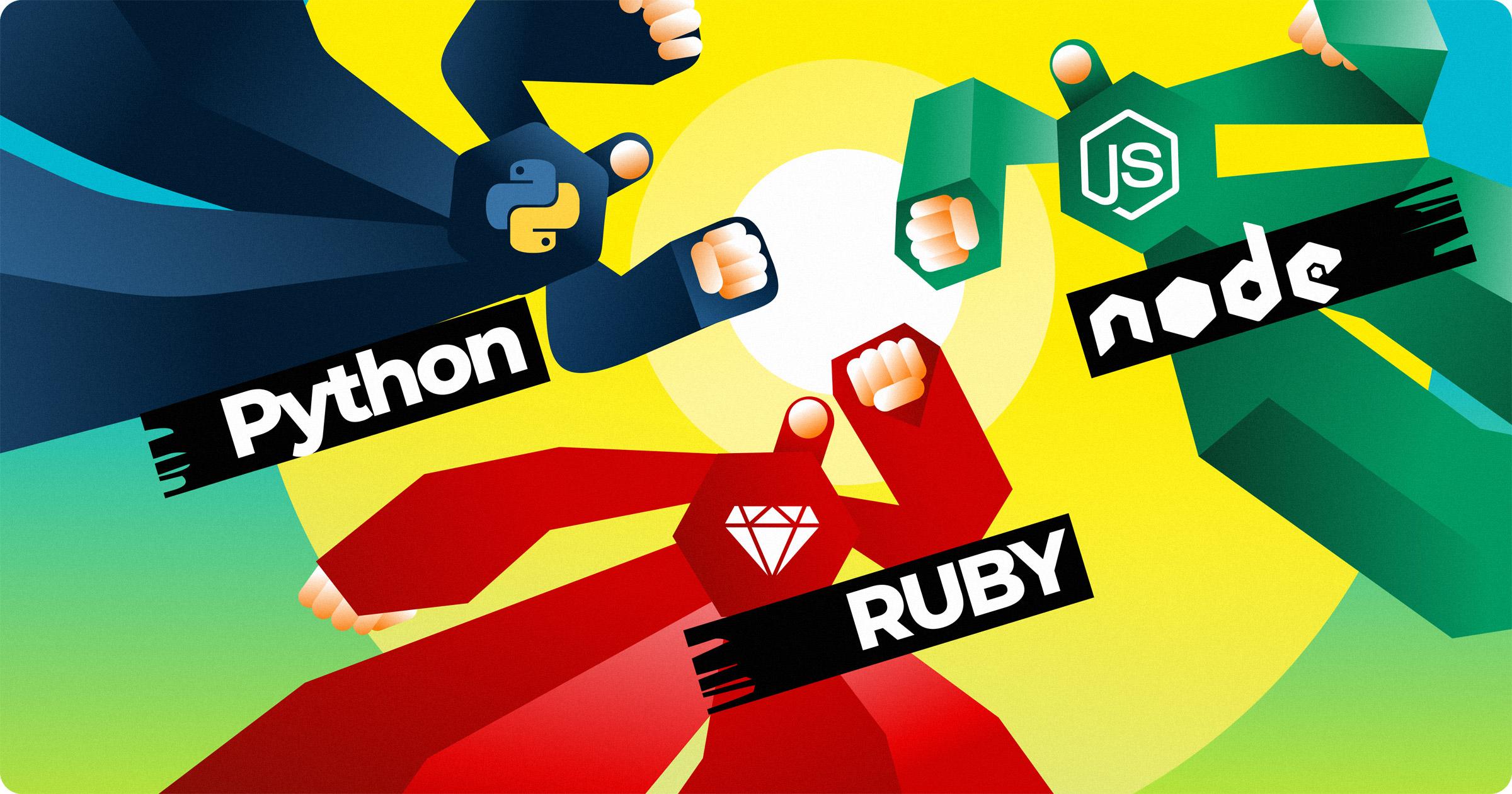 Python vs Ruby vs Node.js