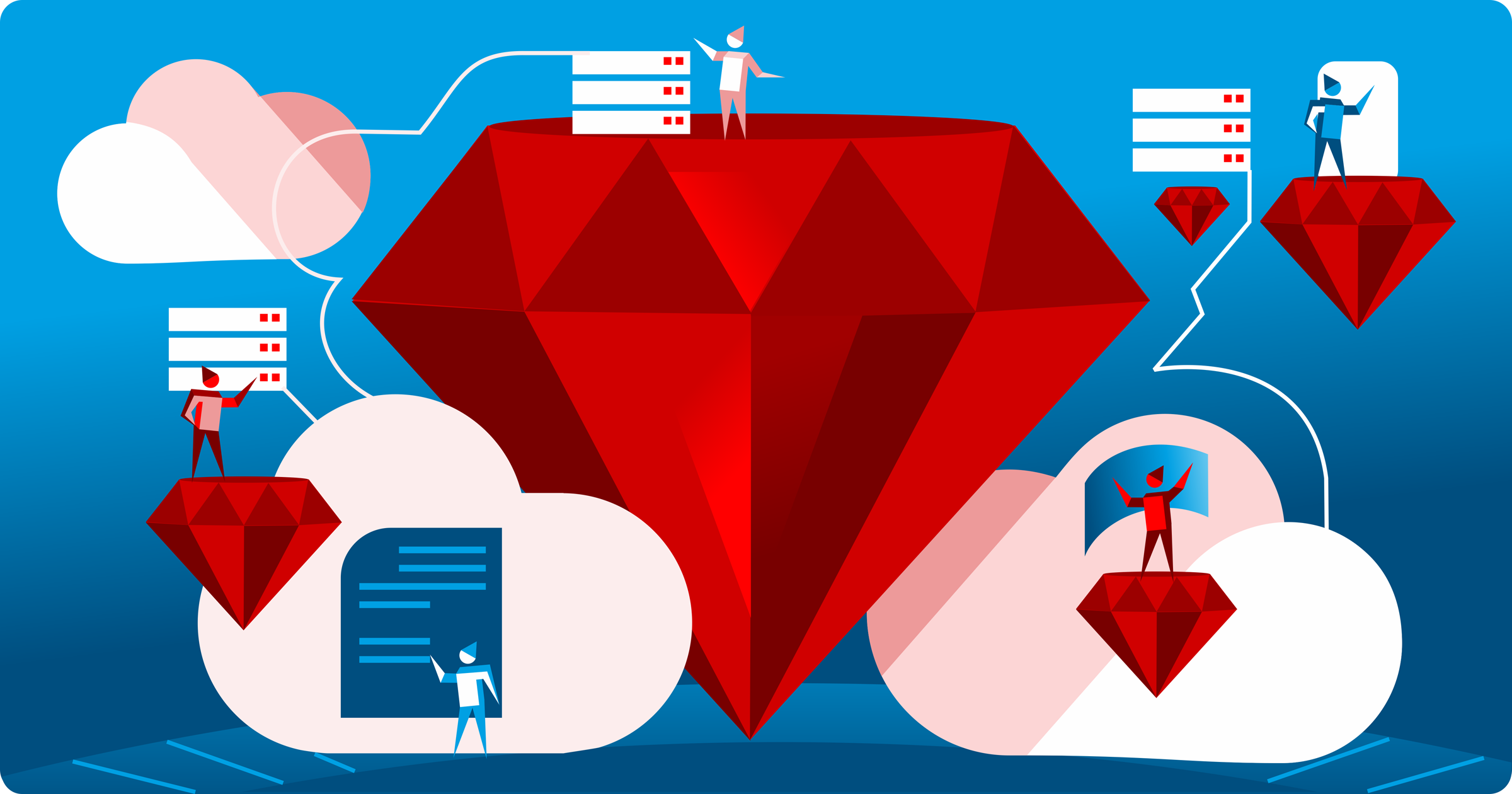 Hosting services for Ruby on Rails app