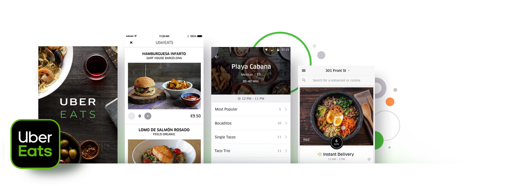 Uber Eats React Native App