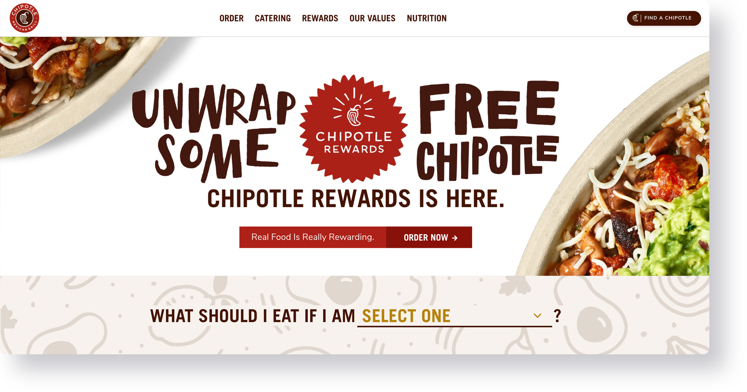 Chipotle - Ruby on Rails websites