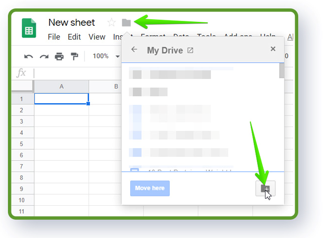 Google Sheets tutorial - tips to create a new spreadsheet